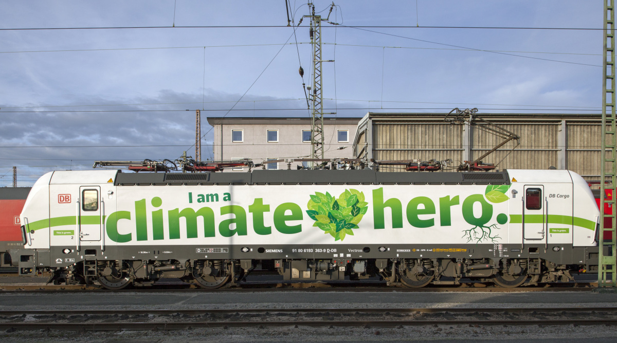 "DB Cargo - Baureihe 193 - Vectron - im ""I am a climate hero"" - Design"