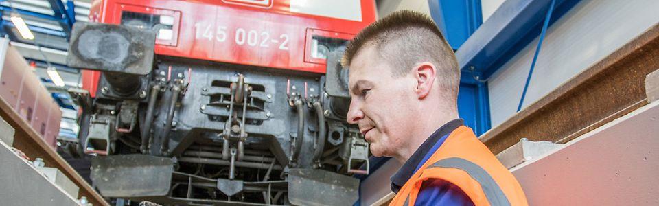 Lokprüfzentrum im DB Fahrzeuginstandhaltungswerk Dessau