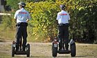 DB Sicherheit Mitarbeiter mit Segways
