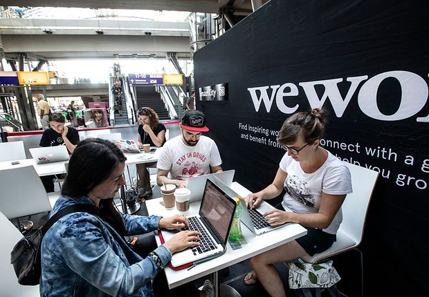 Coworking Pop-up Berlin Hbf